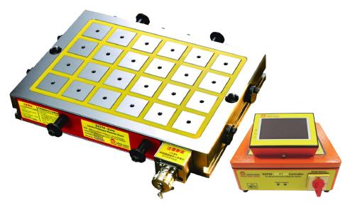 eepm-a thin workpiece magnetic cnc workholding chuck