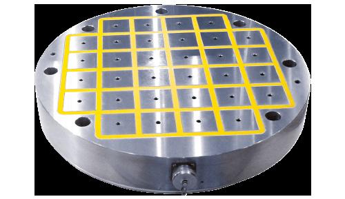 eepm-cirs circular grinding magnetic cnc workholding chuck