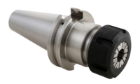 CAT40 collet chuck with powercoat nut