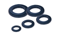group of coolant rings of different sizes