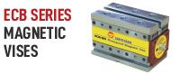 Brand banner for ECB series magnetic vise blocks