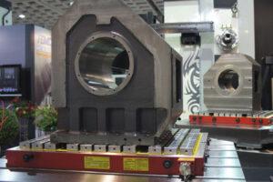 techniks workholding magnets transporting large engine blocks